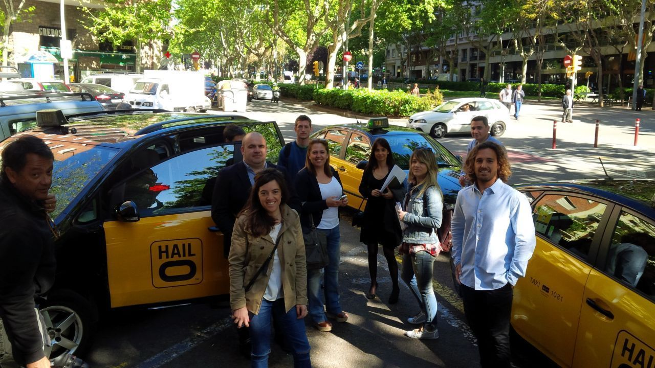 Imagen Taxi Pitch Barcelona